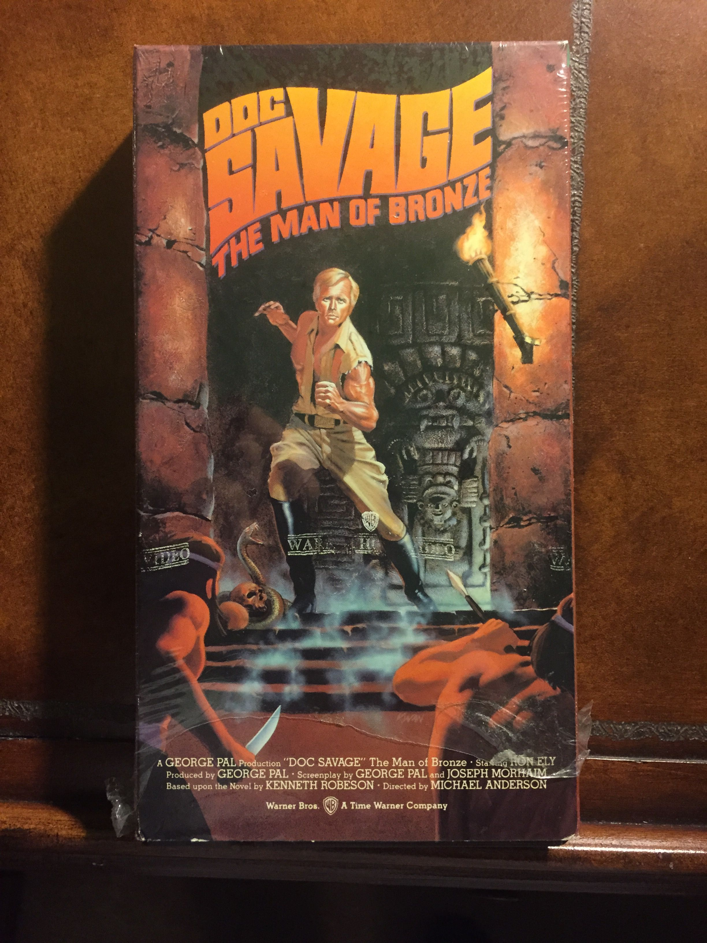 Doc Savage, The Man of Bronze, VHS