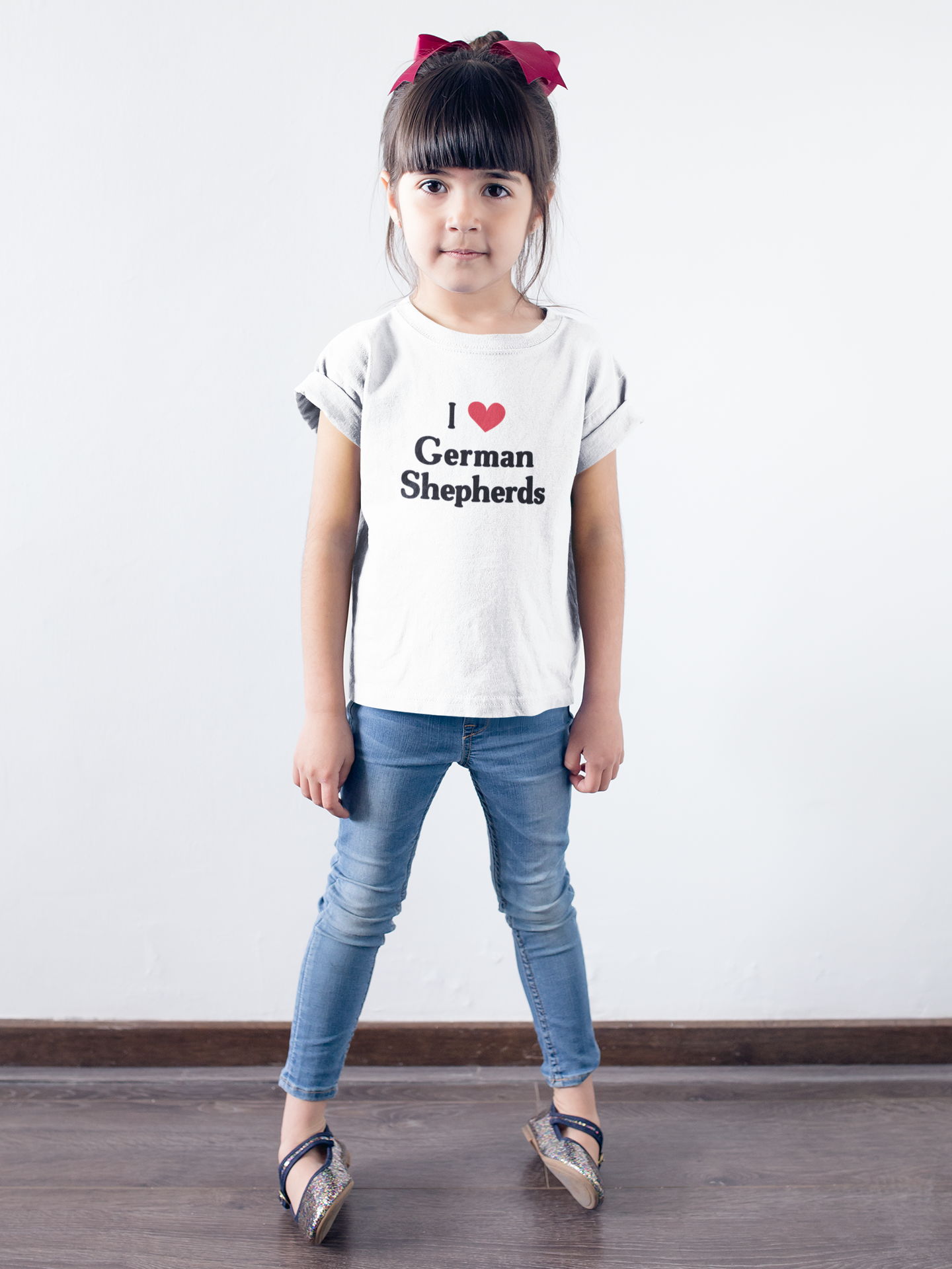 Shepard Love Baby Girls Short-Sleeved Shirt Clothes