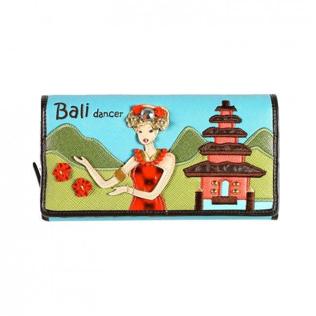 Portafoglio Braccialini Cartoline Bali #portafogli #wallets #braccialini #cartoline