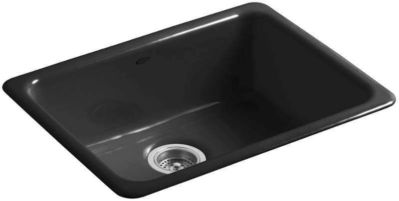 Kohler K 6585 Cast Iron Kitchen Sinks Sink Single Bowl Kitchen