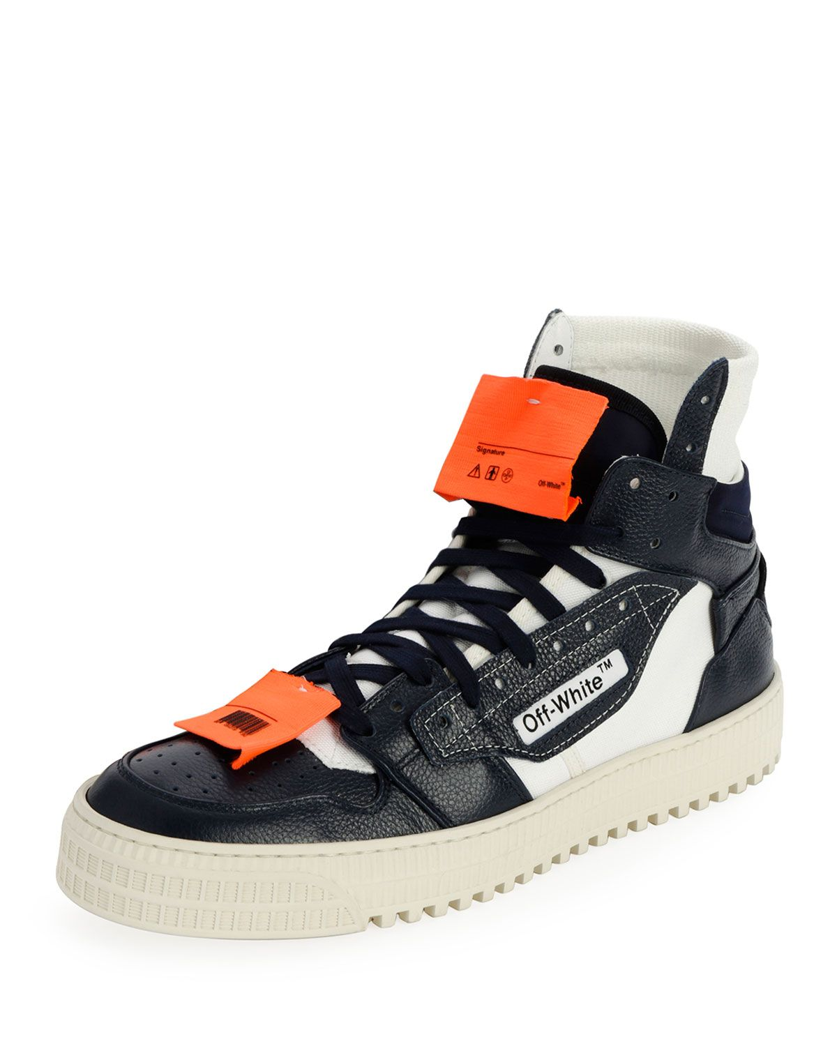 fbd83aab964a OFF-WHITE MEN S OFF COURT TUMBLED SNEAKERS