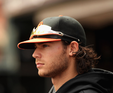 Brandon Crawford Hair Flow