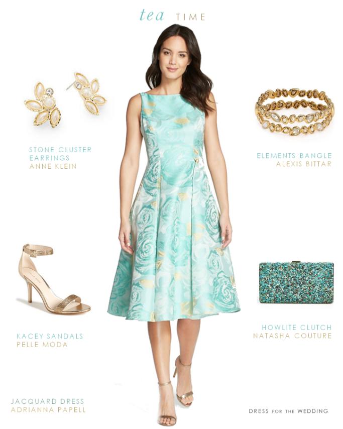 Tea Length Or Midi Length Dresses For Weddings