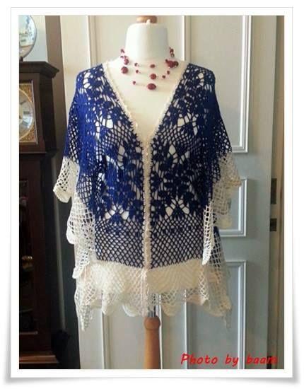 stunning crochet #crochettop #crochetponcho