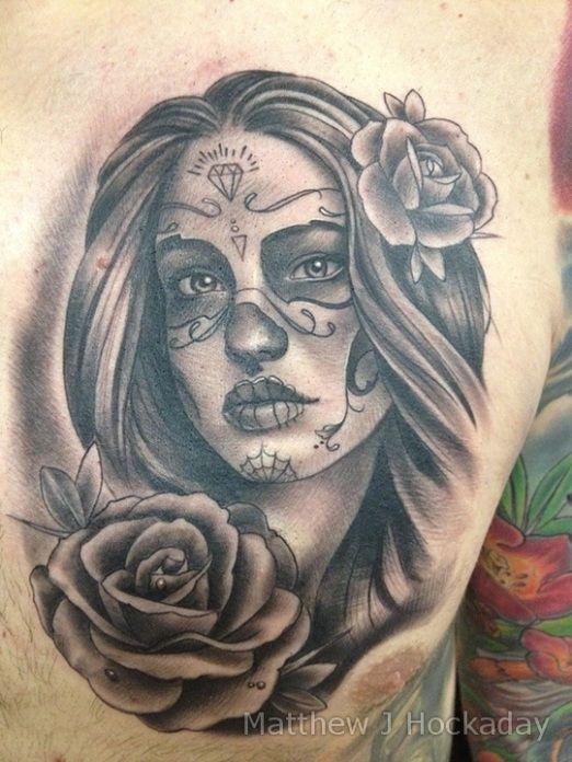 Top 10 Dia de Los Muertos Tattoos   Inked Magazine   Tattoo ideas ...
