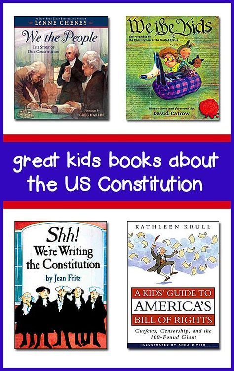 Constitution for Kids -- Best Children's Books for K-8 ...