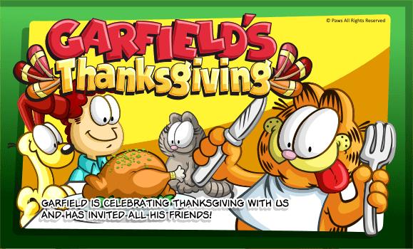 Pin by Liz Radio on Yummy Thanksgiving Garfield, Trailer