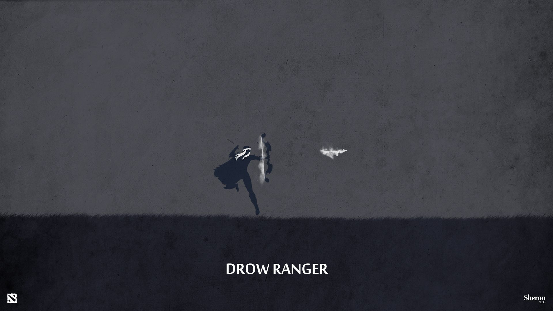 Google themes dota 2 - Dota 2 Drow Ranger Wallpaper By Sheron1030 Deviantart Com On Deviantart