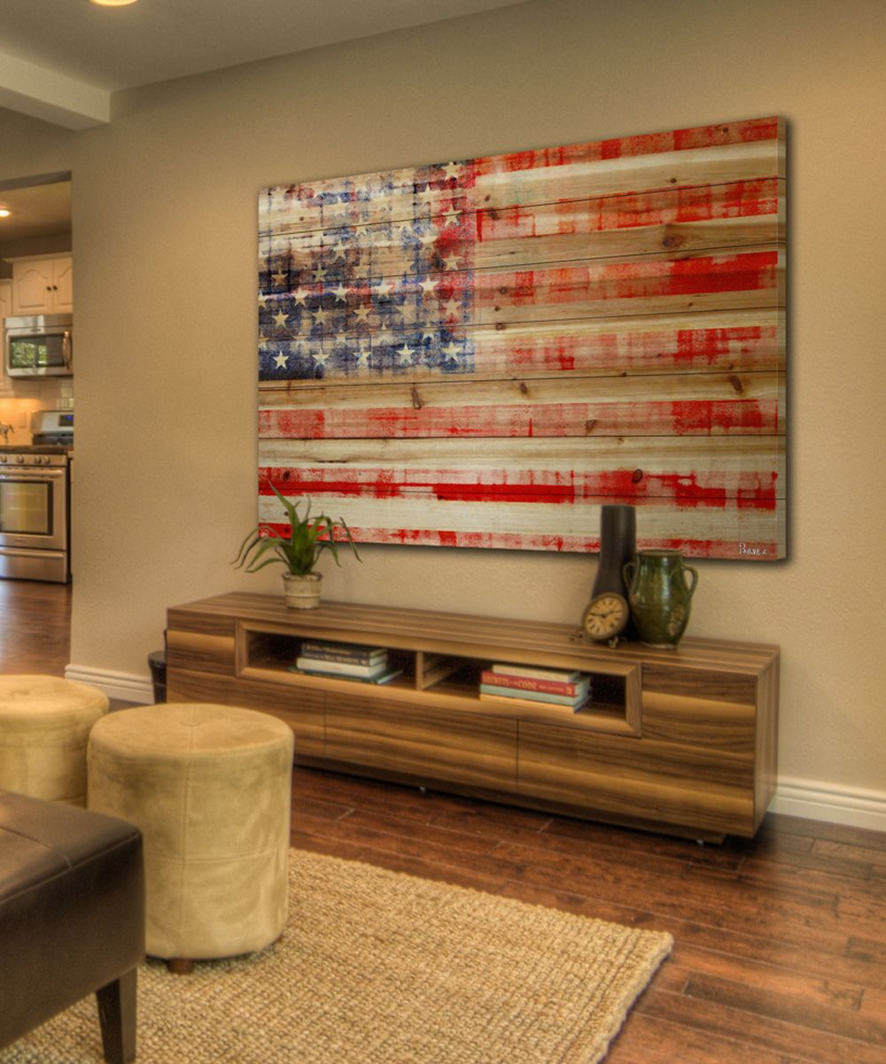 Distressed Wood Wall Art
