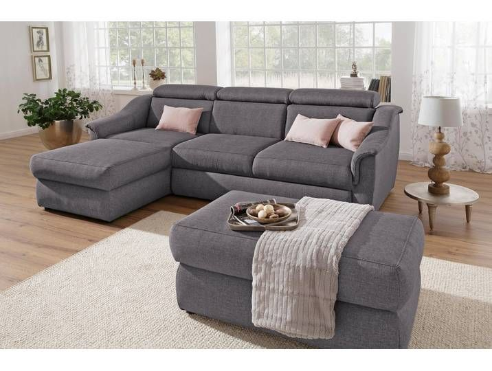 Home Affaire Eck Couch Aura Grau In 2020 Home Couch Furniture