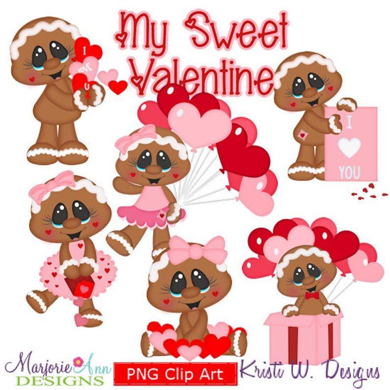 My Sweet Valentine EXCLUSIVE ClipartInstant Download