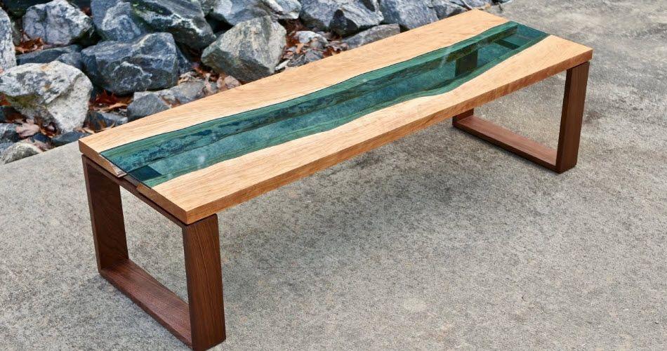 طريقة عمل طاولة صالة مميزة من الخشب والزجاج Woodworking Furniture Handmade Home Decor Woodworking Wood