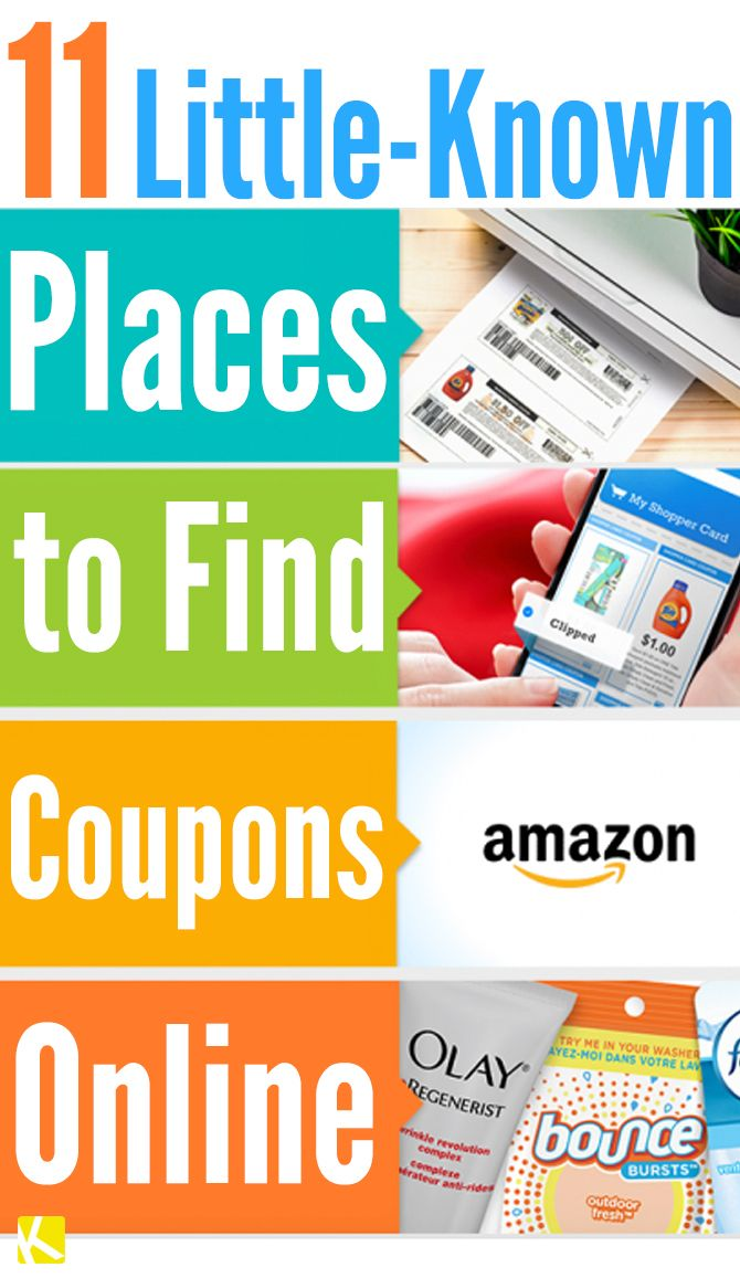 11 LittleKnown Places to Find Coupons Online Couponing