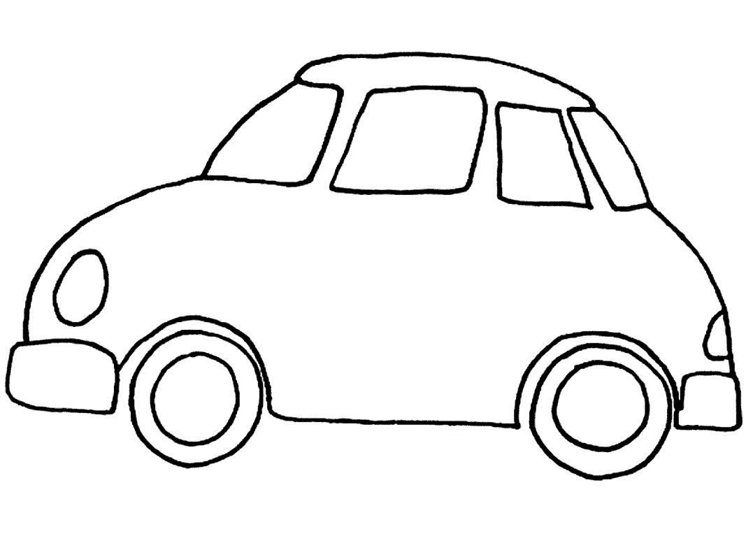 coloring pictures car - Google Search | pictures and letters ...