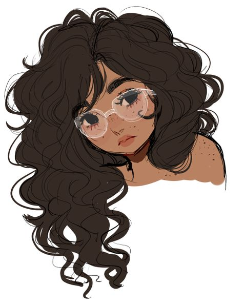 Glasses Girl Illustration Pictures 23 Trendy Ideas Cartoon Artist Art Inspiration How To Draw Hair