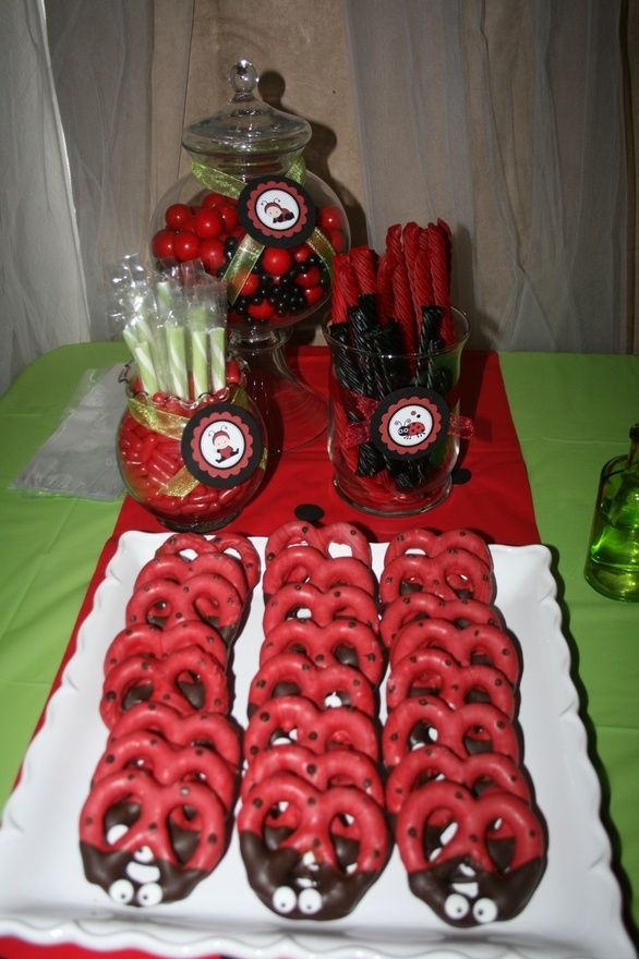 Ladybug Baby Shower Party Favors PIoYAfvjG