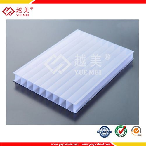 Opal Pc Twin Wall Hollow Sheet Ympcsheet Opal Twin Wall Hollow Sheet Alveolar Pc Sheet 10mm Policarbonato Sheet Sheet Wall Opal