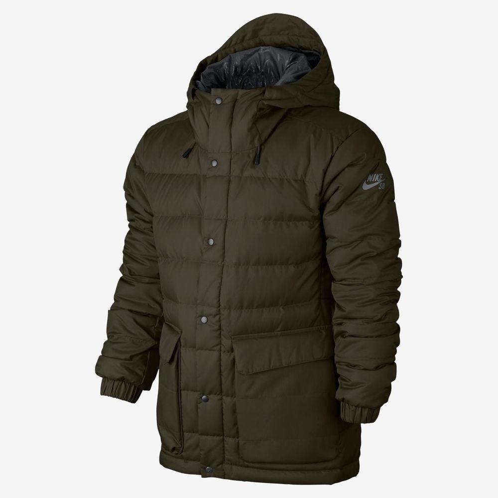 castillo Cortar Para llevar  NEW Nike 550 Puffer Down SB Snowboarding Bomber Jacket Black 693334-325  Men's | Jackets, Jackets for women, Mens jackets