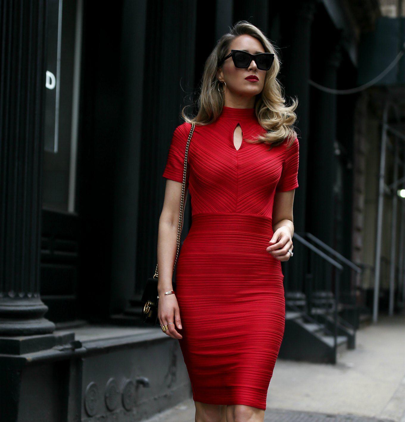 47++ Red sheath dress ideas in 2021