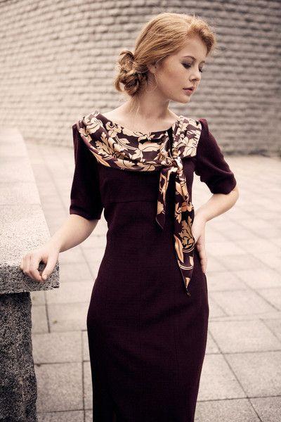 Zoya Vintage-inspired dress. | Aspenlasso.com #vintagedress