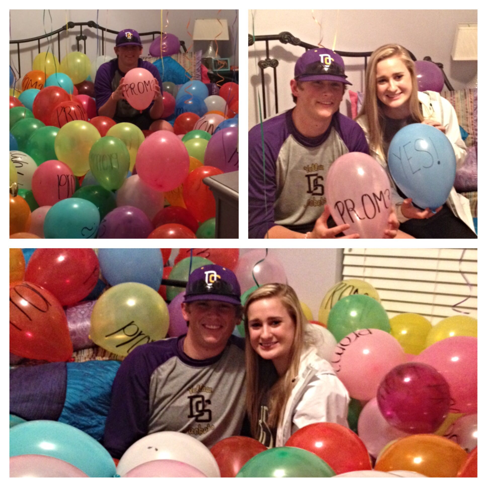 400 balloon prom posal prom pinterest prom promposal and