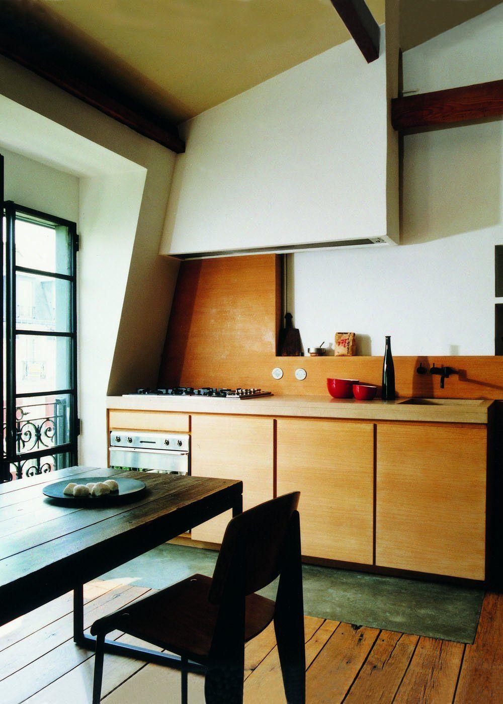 Cuisine mansardée : toutes nos plus belles idées pour bien l'aménager   Belle cuisine, Cuisines ...