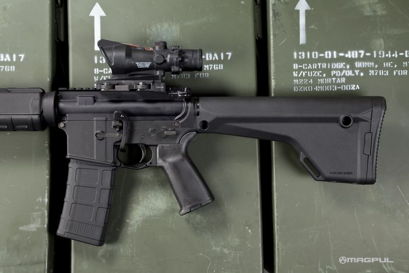 FIXED & PRECISION ADJUSTABLE STOCKS – AR15/M16 Type Rifles, FN FAL