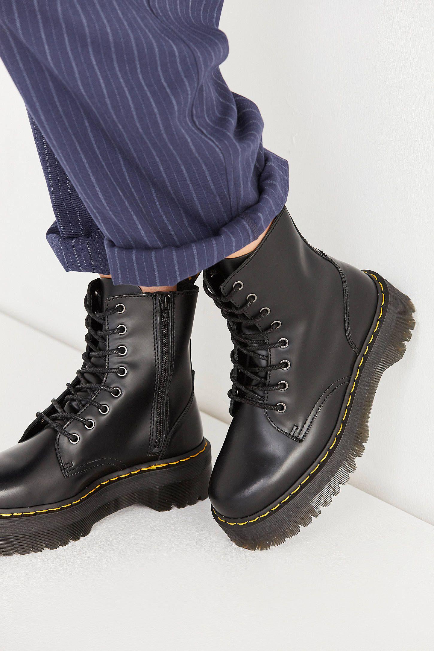 3c6662eadb46 Dr. Martens Jadon Platform 8-Eye Boot