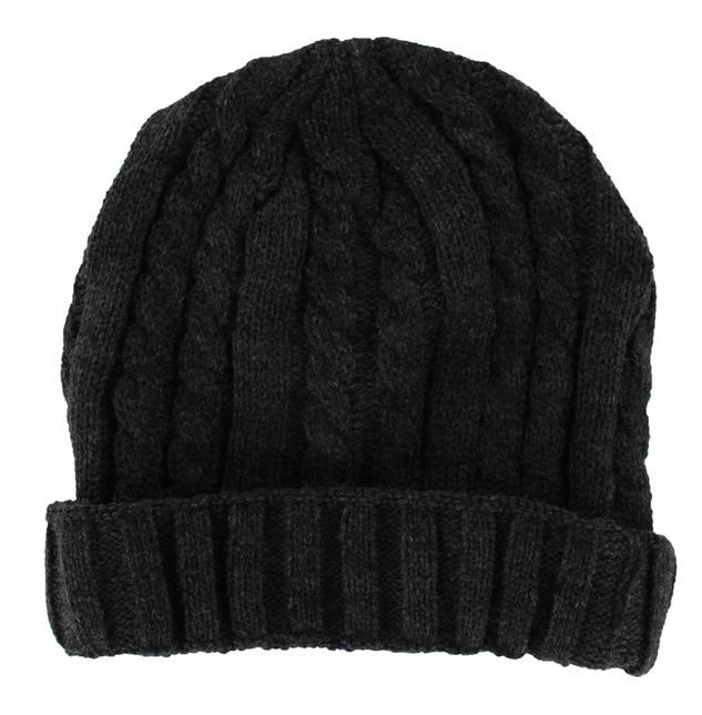 #Urban Ribbed Knit #Thermal #Beanie #Hat in Beige