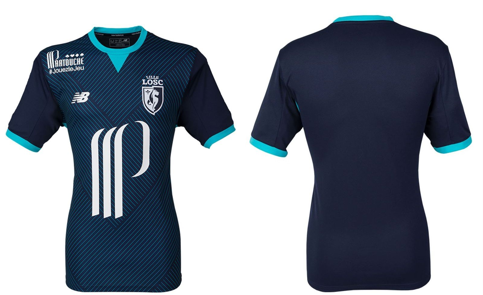 Camisas do LOSC Lille 2017-2018 New Balance  ec871b6317631