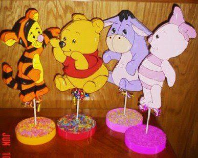 Decoraci n de fiestas infantiles de winnie the pooh for Decoracion hogares infantiles