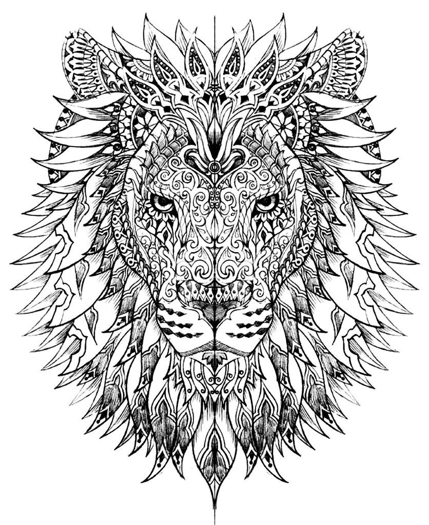 50 Printable Adult Coloring Pages That Will Make You Feel Like a – Printable Adult Coloring Page