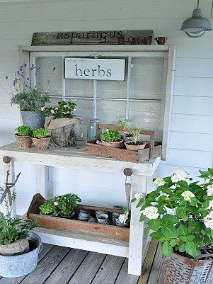Potting Bench <3