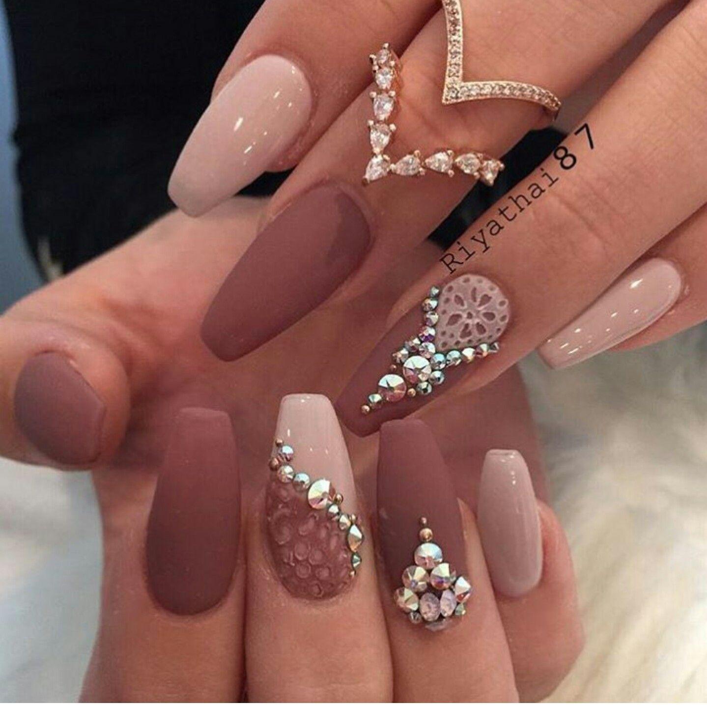 Happy nails · Diamond Nail DesignsDiamond ... - Pin By Vilma Arreaga On Uñas!!! Pinterest Nail Nail, Makeup And