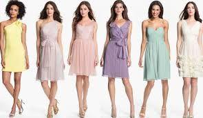 Colores Pasteles Vestidos Buscar Con Google Vestidos De