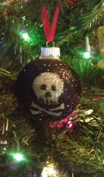 Skull Christmas Ornament