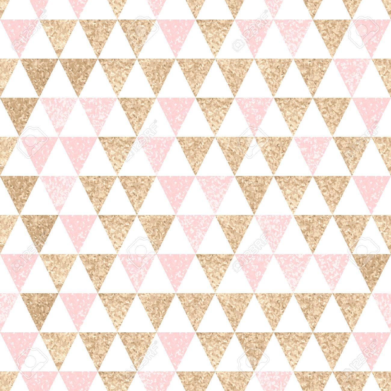 53383035-Nahtlose-geometrischen-abstrakten-Hintergrund-Gold-und-rosa ...