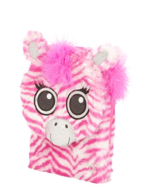 Furry Zebra Journal   Girls Backpacks & School Supplies Accessories   Shop Justice