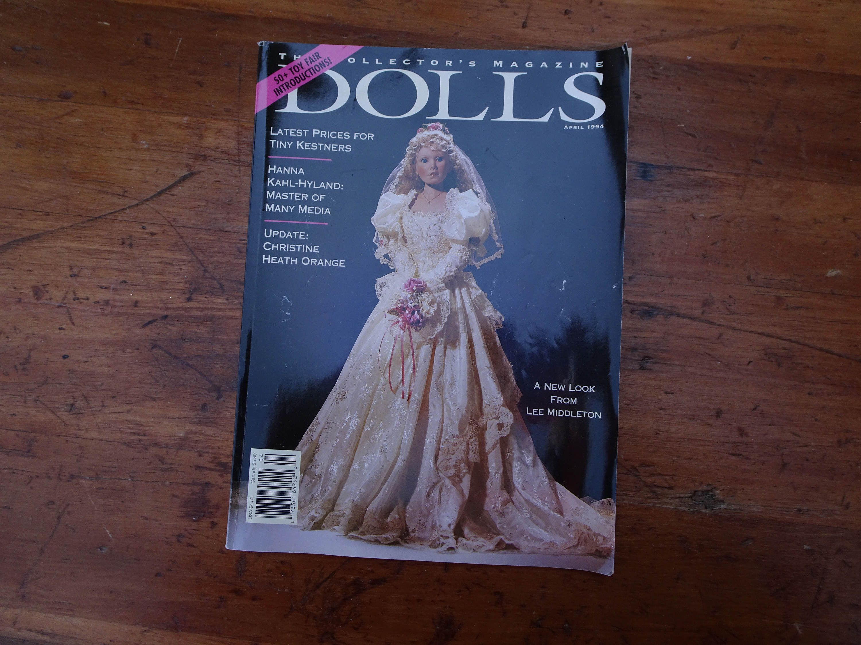 Dolls Magazine April 1994 by ClearlyRustic on Etsy