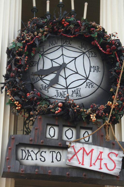 Diy Nightmare Before Christmas Countdown Clock Nightmare