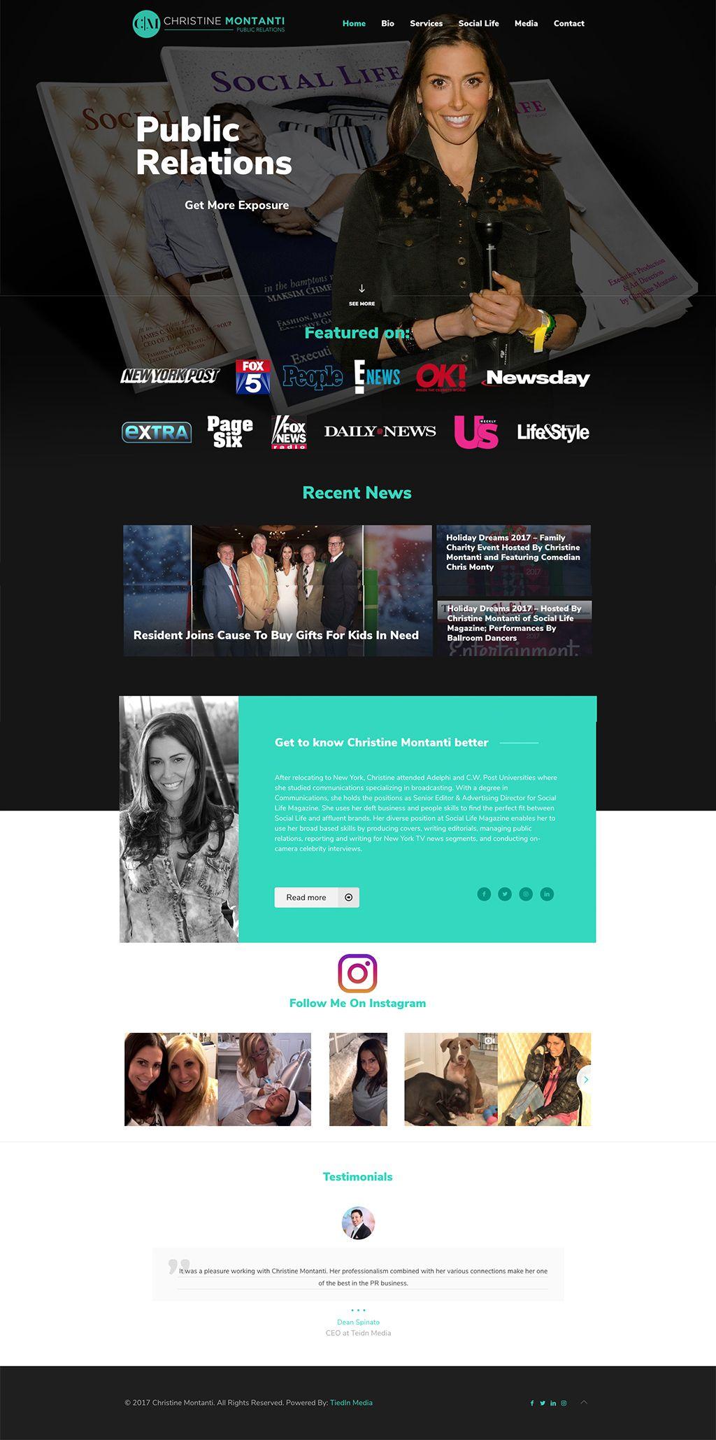 Christine Montanti TiedIn Media Marketing professional