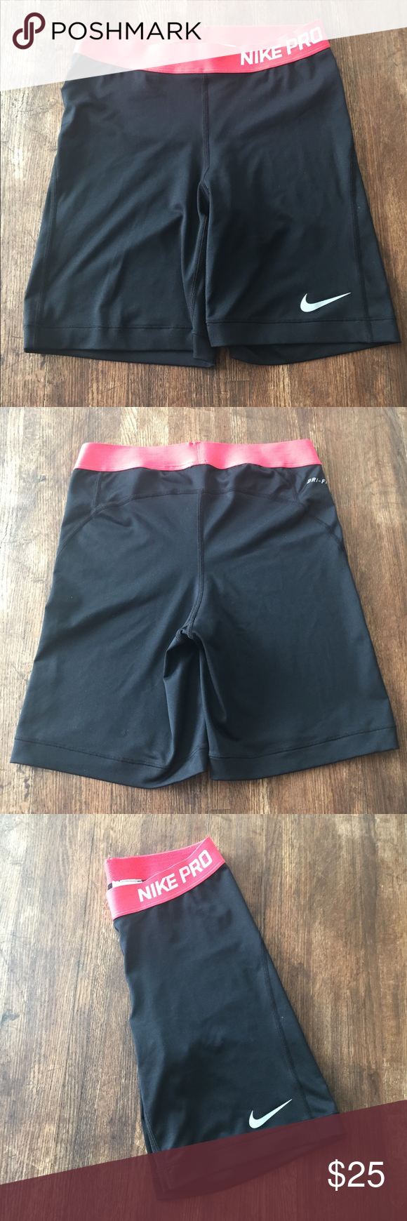 """Nike Pro 5"""" Compression Short Sz M This is a listing for Nike Pro Compression Shorts 5"""" Sz M Gently Used Nike Shorts"""