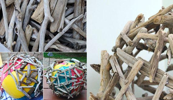 Gartendeko selber machen: DIY Gartenkugeln | crafts | Pinterest ...