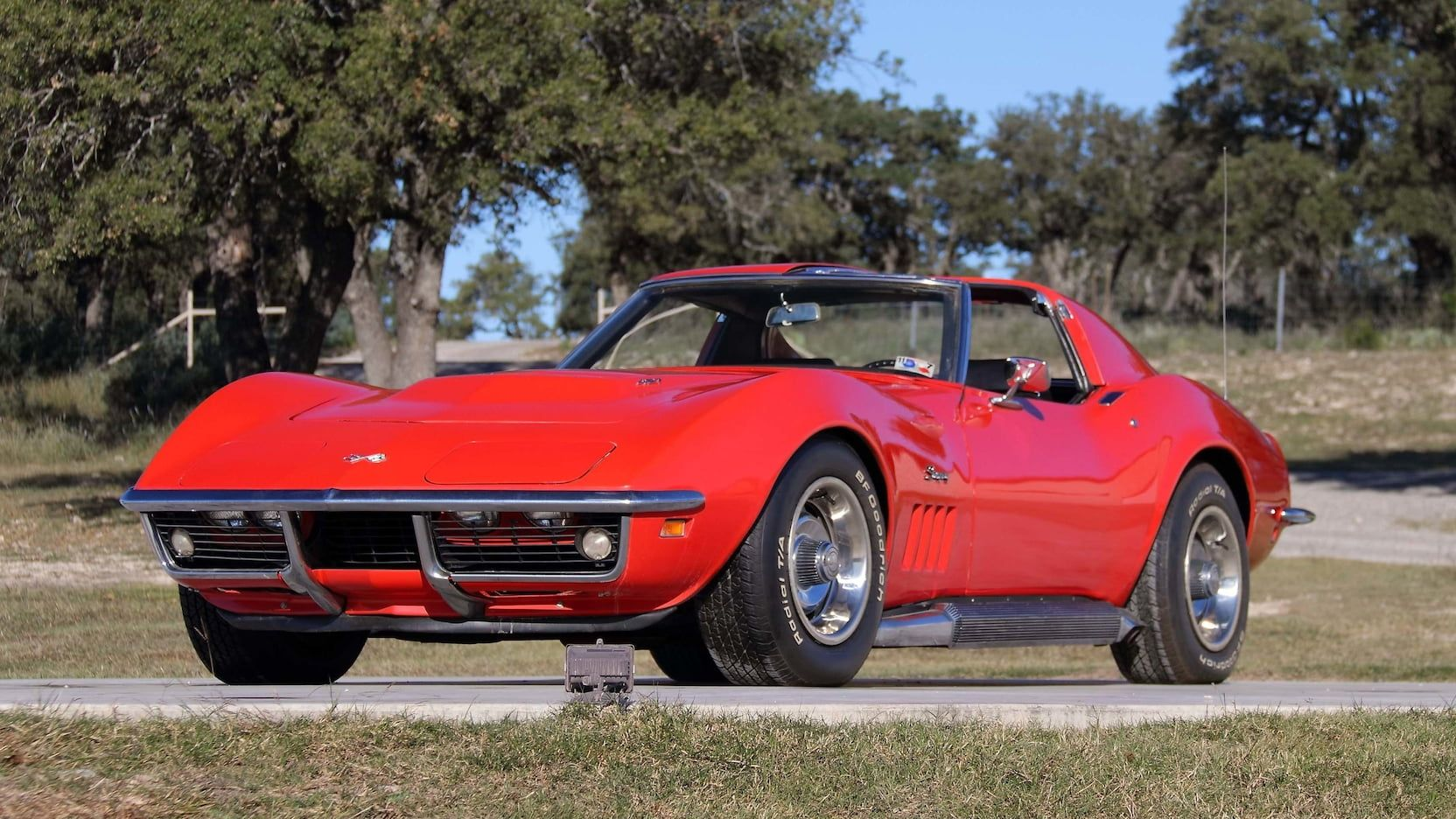 1969 Chevrolet Corvette Coupe Presented As Lot T264 At Kissimmee