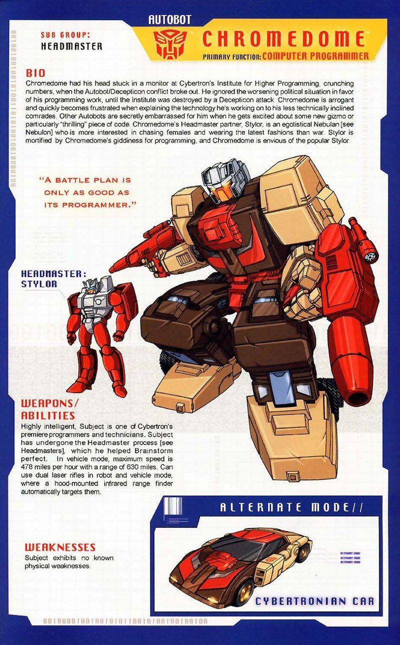 Gallery G1 Chromedome Transformers Autobots Transformers Comic Transformers Cybertron
