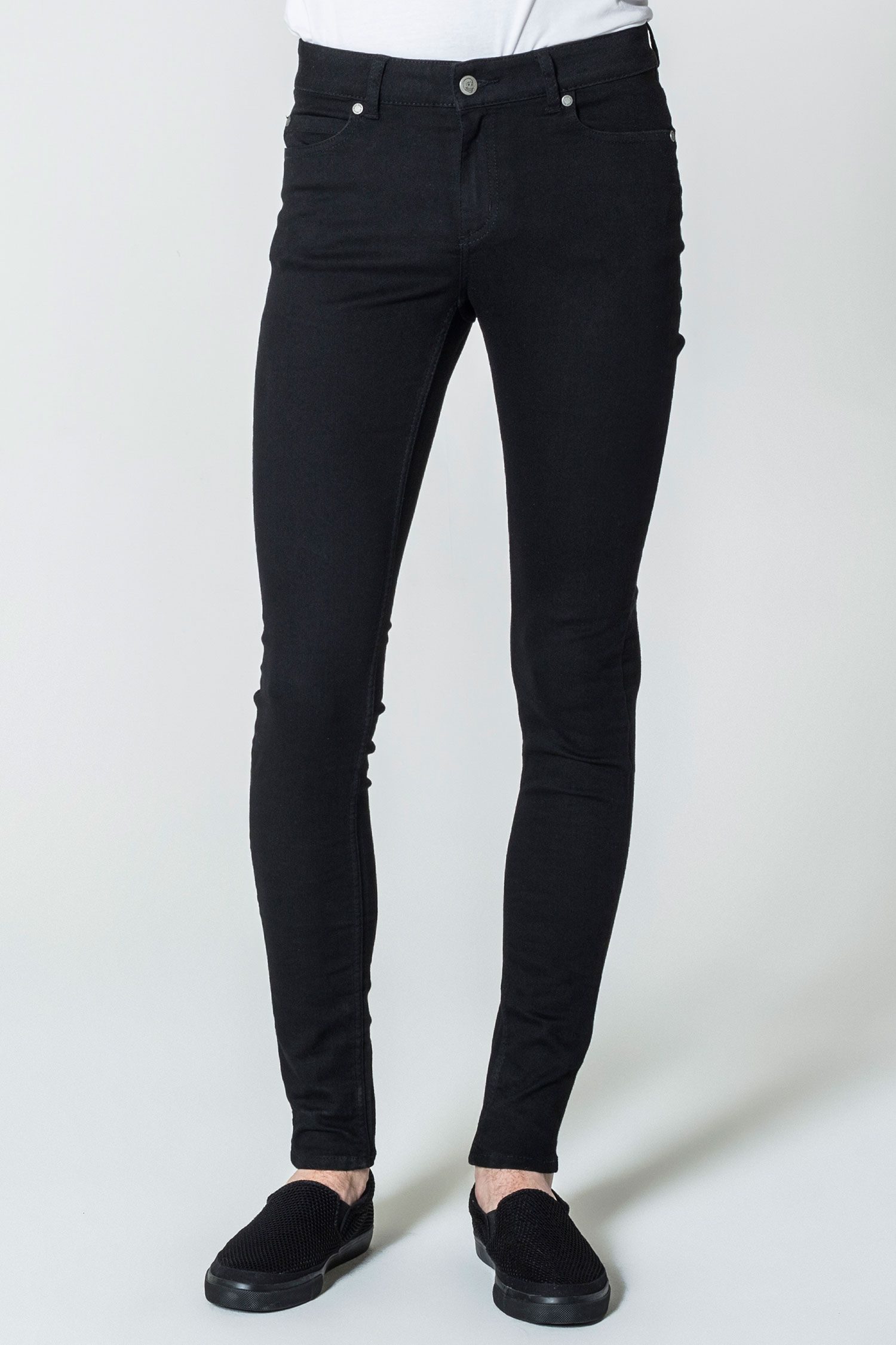 692cd0a5 Him Spray Black Jeans Fit: Low rise, super skinny fit jeans and legs. Him  Spray…