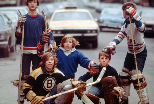 1973 Street Puck Street Hockey Street Soccer Soccer Photography