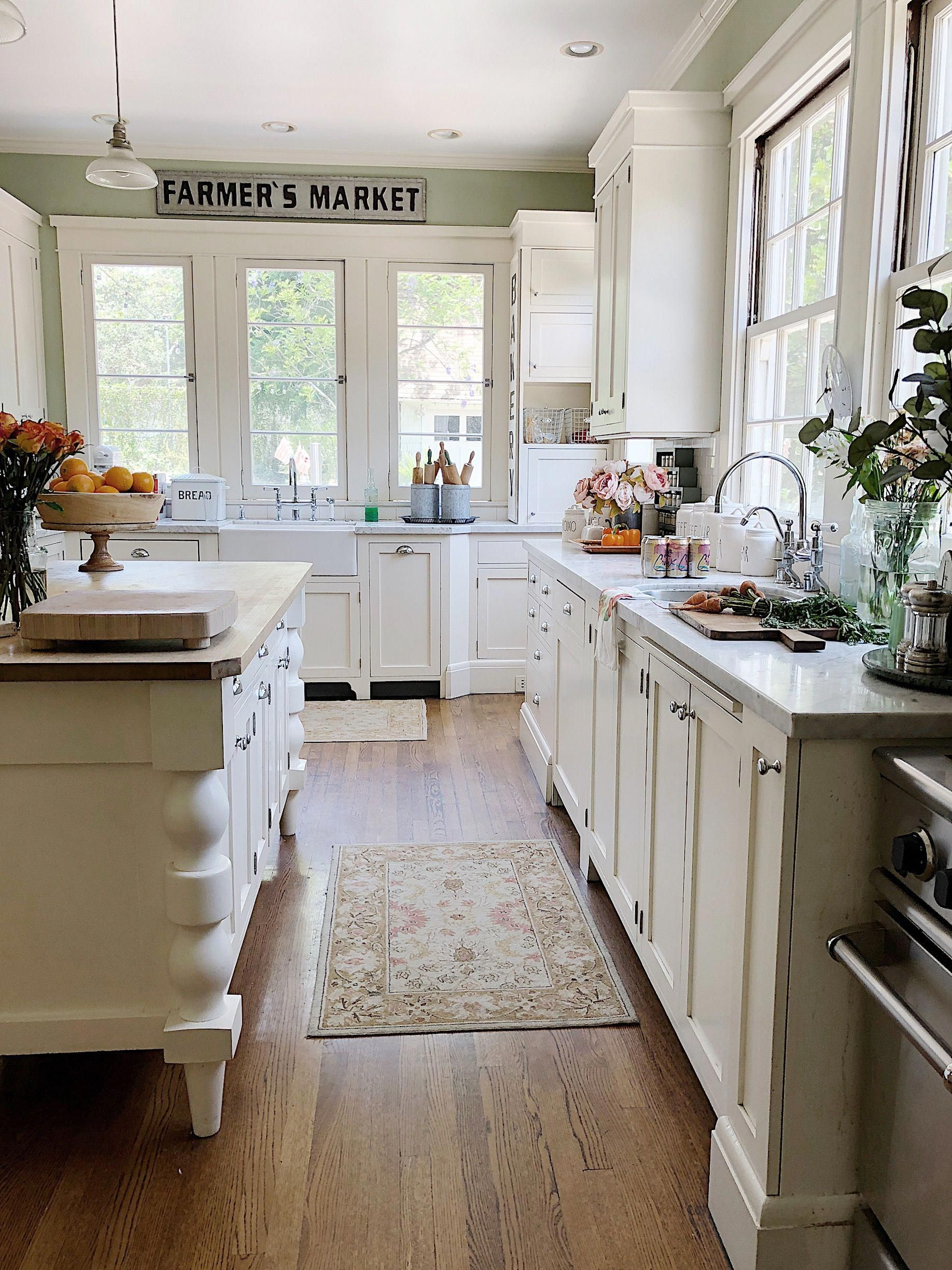 easy summer styling in our kitchen kitchen remodel old home remodel old house decorating on farmhouse kitchen kitchen id=38914