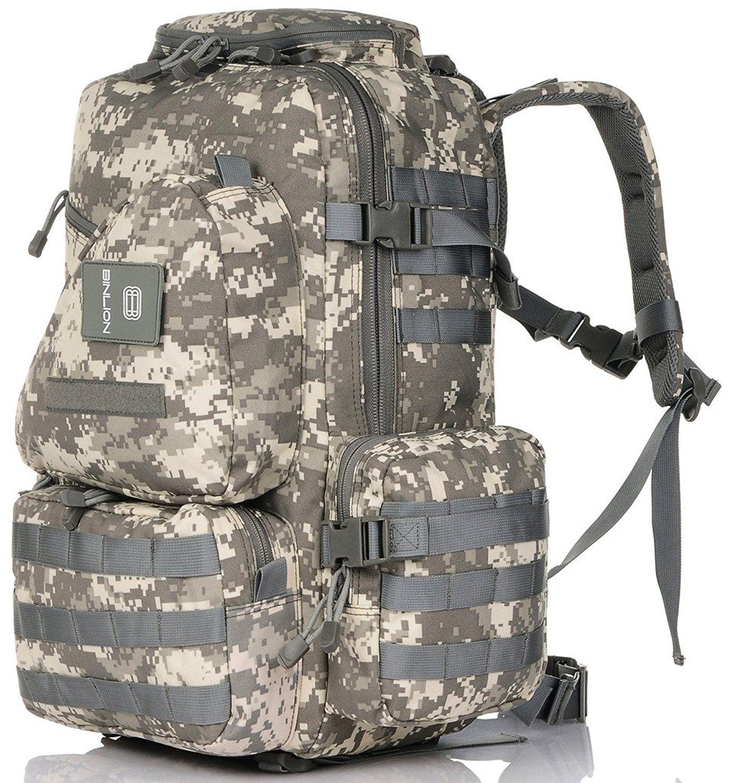 Binlion Camouflage Military Multipurpose Tactical Backpacks Hiking ...