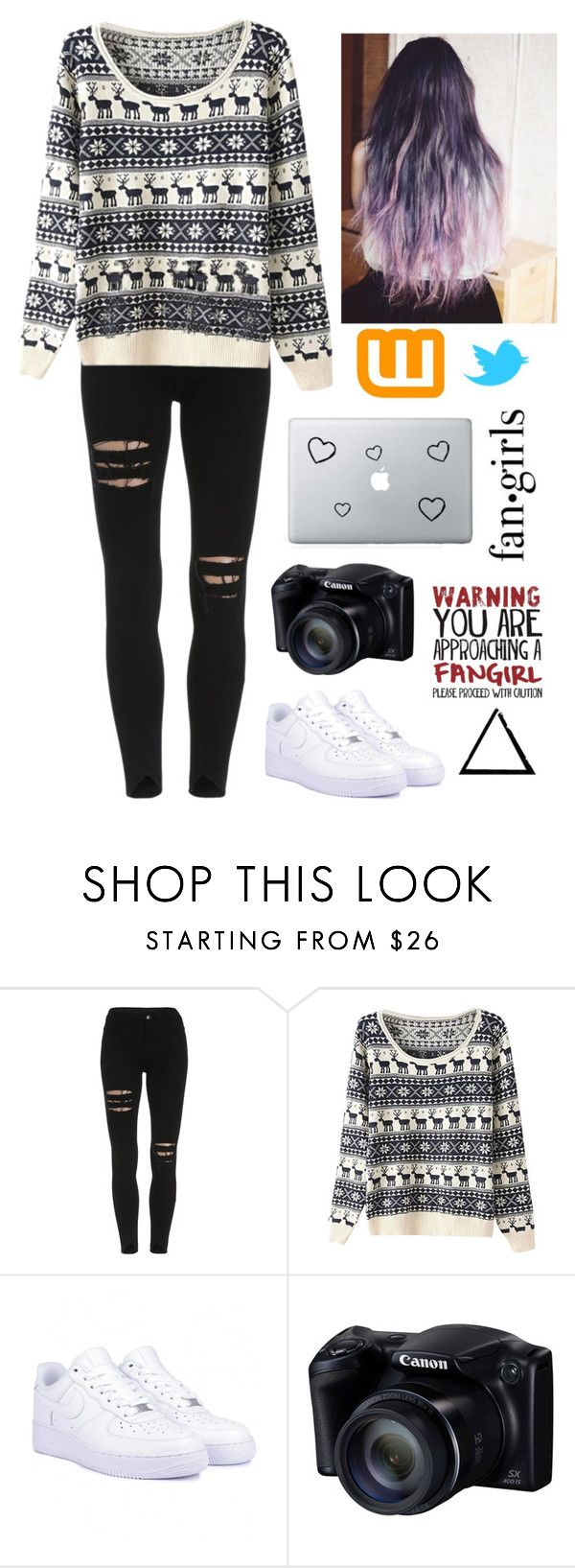 """""""Fan•girls."""" by clea69 ❤ liked on Polyvore featuring NIKE"""